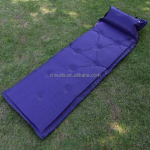 inflatable outdoor round velvet bed cushion