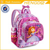 Children Sofia shining school bag set with lunch bag , High quality school bags in wholesales