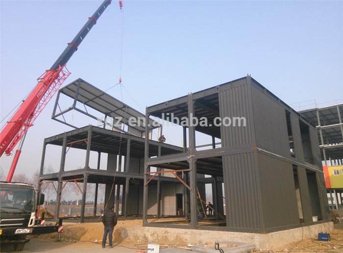 Prefab Steel Frame Multi Storey Office Building Buy