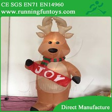 Customized inflatable deer, christmas decoration inflatable Christmas deer/inflatable deer ICL-0162