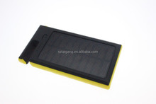 New 12000mAh Dual-USB Waterproof Solar Power Bank Battery Charger for Cell Phone