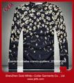 corea moda de manga larga de algodón puro Camisa de manga larga