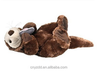 """Sea Otter Stuffed Animal Plush Toy 24"""" Length/Soft Squeezable Quality Toy Lying Otter /Nice Realistic Toy Sea Otter"""