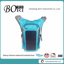 solar power backpack, backpack with solar panel, solar backpack