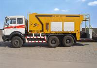 Hydraulic control micro-surfacing slurry sealing machine/slurry sealing truck