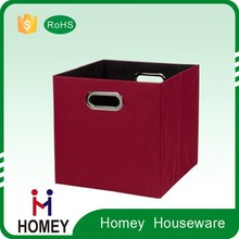 2015 Hot Low Price Good Quality Eco-Friendly Collapsible Polyester Heavy Duty Storage Bins