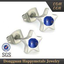 Hot Quality Fashionable Design Oem Service Biker Earrings For Men