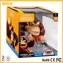 King kongs plastic toys action figures,sponsor product action figure,cheap plastic action figure for promotional