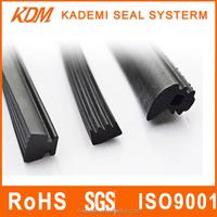 Silicone shower door seal strip/door frame seal for Door/Window epdm rubber extrusion