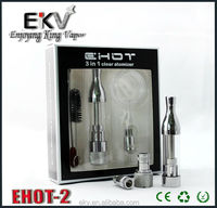 Alibaba co uk vaporizer pen Ehot-2 clear atomizer for ego battery hingwong rex china wholesale price from online-shopping
