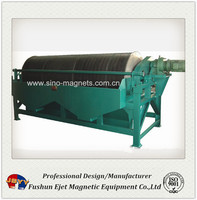 wet drum magnetic separator for mining industry