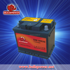Automotive lead acid type 12v 55ah rechargeable car battery