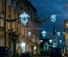 2015 led decoration motif light christmas across street