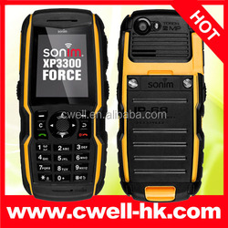 """Big promotion Sonim XP3300 Force rugged waterproof cell phone 2.0"""" Gorilla Glass Screen 2.0MP Camera JAVA And Multi-languages"""