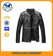 man gun apparel new model pu leather jacket