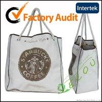 customized natural cotton promotional bag