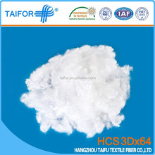 2015 polyester hollow fibre for hot-sale 3Dx64mm