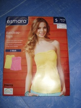 LADIES BANDEAU TOP (Garment Stock lots / Apparel Stock / stocklots / Garment Apparel from Bangladesh)