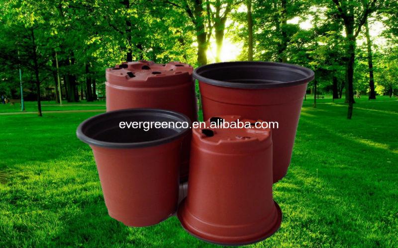 plastic flower pot plastic planter pot cheap planting