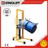 2015 Sinolift New DA450 Steel Plastic Oil Drum Hydraulic Palletizer Drum Tilter with Pedal