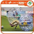 Popular pvc/prix tpu parachoques de bola, la bola de parachoques, pequeña bola inflable del pvc