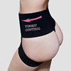 WONDQ Ladies 3 Row Hooks Sexy Thong Butt Shaper Invisible Panty Girdle
