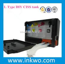 Black cover ciss tank for Epson L100/L200/L800 CISS ,also offer Bullet type DIY ciss tank