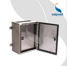 Saipwell CE Certificated Electronic Enclosures Metal IP66 Waterproof Outdoor Custom Electrical Box Enclosures