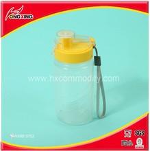 Mini capacity 400ml cheap plastic custom water bottles labels available online