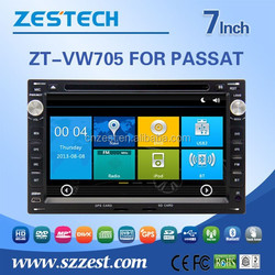 HD digital 800*480 touch screen car dvd gps for VW PASSAT with GPS/Radio/WIFI
