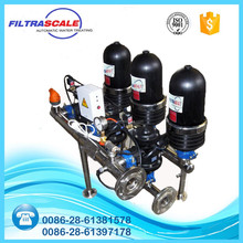 PP material automatic disc water filter drip irrigation system for agriculture