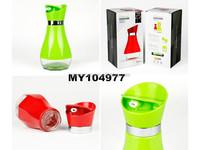Wholesale 500ml sealable oil bottle glass bottles for oil food grade plastic pp oilcan