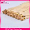 100% Italian Keratin Glue Higher Quality Virgin Human Hair 10-30 Inches Cuticle Remy Pre-Bonded Human Hair Extension