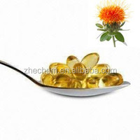 Safflower oil soft capsule