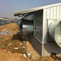 Steel Frame Chicken Farm Building Design Poultry House To Sudan
