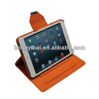 Guangzhou Manufature leather tablet case for ipadmini