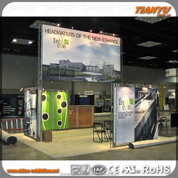 tension fabric banner easy truss booth
