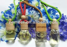 Hanging air freshener for car/ woods oxygen air freshener with different flavors