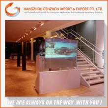 2015 self adhesive 3d rear holographic foil/ transparent self adhesive Film/ holographic projection screen film