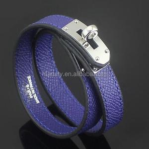 Ingrosso braccialetto donne gioielli e accessori in pelle di moda su misura in acciaio inox Superstar