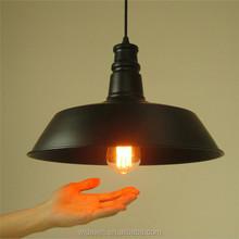 Antique lamp D26/36/46cm iron black/white modern pendant lamps Kitchen lighting
