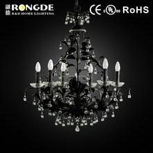 Crystal lamp,black chandelier,italian chandelier light