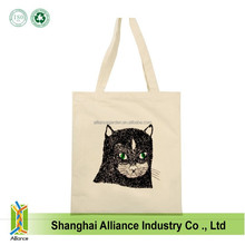 Customized cotton canvas tote bag cotton bags promotion cute Recycle organic cotton bag