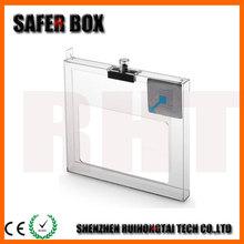 Single CD Safer Box,Transparent Retail Store Anti-theft Box Wholesale Price