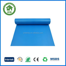 Mositureproof Blue IXPE Foam roll underlayment for for carpet