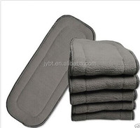 CHARCOAL BAMBOO CLOTH INSERTS FOR CLOTH DIAPER WASHABLE REUSABLE