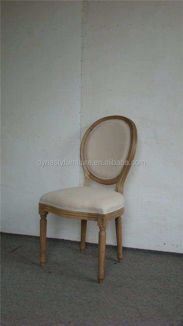 Interior reciclado de madera de roble Silla de comedor muebles ...