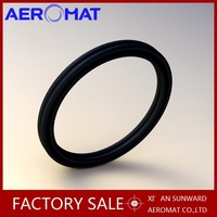 Aeromat Customerize rubber o ring manufacturer /viton flat rubber o ring