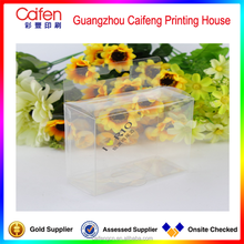custom packaging transparent PVC folding plastic box