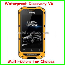 4 inch ip67 dual sim Land Rover discovery V6 rugged military cell phone